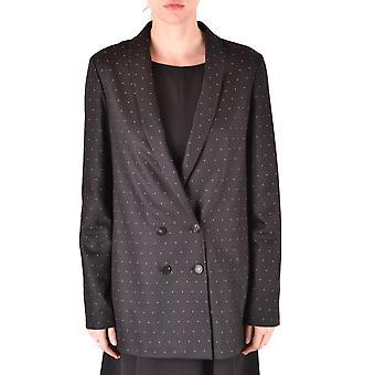 Alysi schwarz Viskose Outerwear Jacke