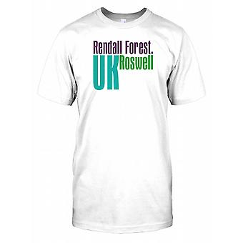 Rendall Forêt UK Roswell - Conspiracy Mens T Shirt