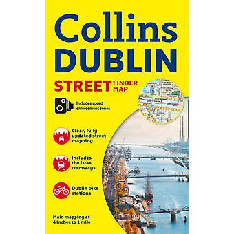 Collins Dublin Streetfinder Colour Map (New edition) by Collins Maps