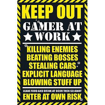 Gaming holde ut Maxi plakat 61x91.5cm