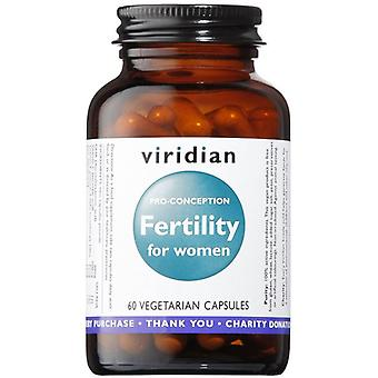 Viridian Fertility for Women Veg Caps 60 (172)