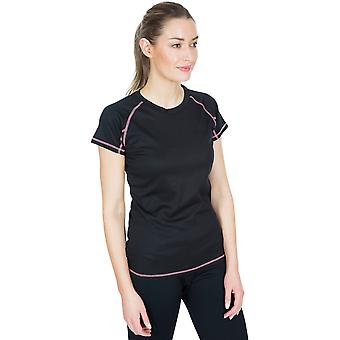 Trespass mujeres Viktoria TP50 camiseta de manga corta seca rápida