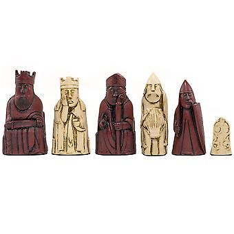 The Berkeley Chess Isle of Lewis Cardinal Chess Men 3.35 inches