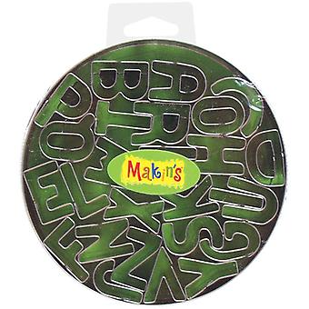 Makin's Clay Cutters 26 Pkg Alphabet 37001