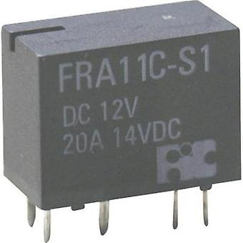 Automotive relay 12 Vdc 20 A 1 change-over Hongfa