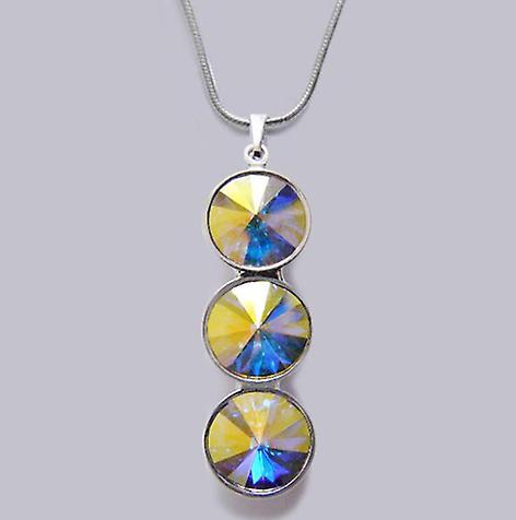 Halskette mit Kristallanhänger PMB 4.6