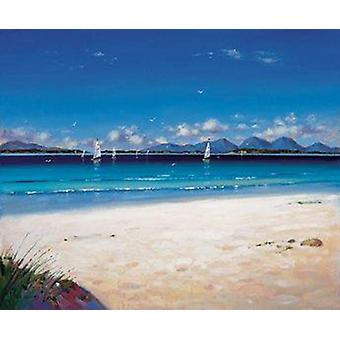 Ed Hunter print - Jura from Kintyre