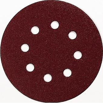Router sandpaper Hook-and-loop-backed Grit size 40 (Ø) 125 mm Makita P-43533 10 pc(s)