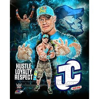 John Cena 2015 Plus sport Portretfoto (8 x 10)