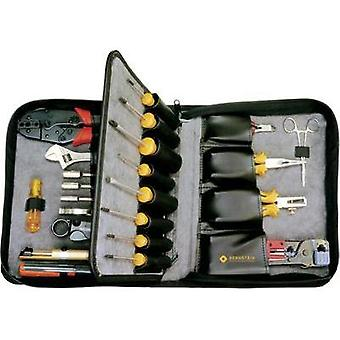 Electrical contractors Tool bag (empty) Bernstein SERVICE-SET NETWORK OHNE WERKZEUG 2701 NETWORK (L x W x H) 320 x 250