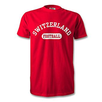 Switzerland Football Kids T-Shirt