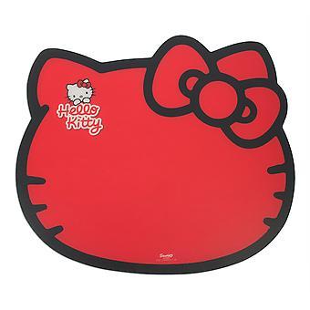Hello Kitty Feeding Mat Kitty Design Red