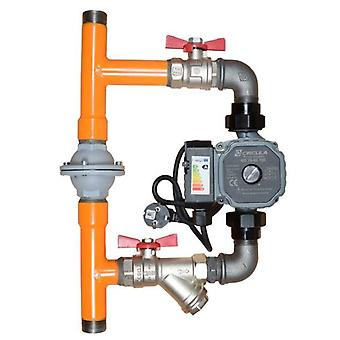 Calido Boiler Protection Pump Bypass System with Differential Valve 1'' Variant With Pump