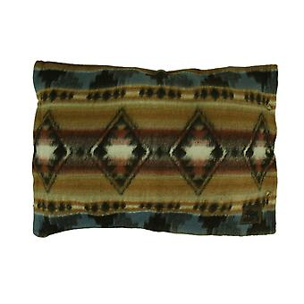 Cabin Fever Grecas suroeste lana acrílico almohada simulado 29 X 20 pulgadas