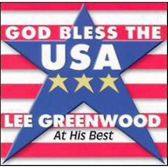 Lee Greenwood - God Bless the Usa at His Best [CD] USA import