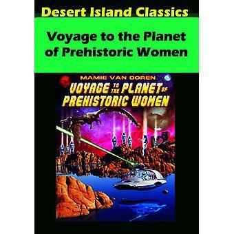 Voyage til Planet af forhistoriske kvinder [DVD] USA importen