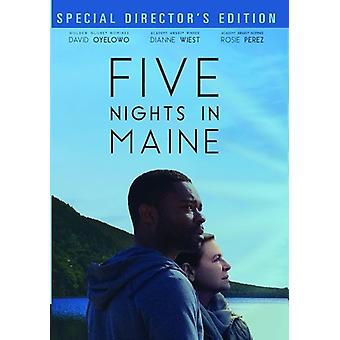 Pięć dni w import USA Maine [DVD]