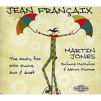 J. Françaix - Fran Aix : The Music pour l'importation des USA de Solo, Duo & Duo Piano [CD]