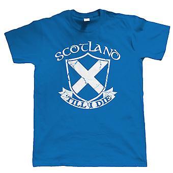 Scozia ' fino a quando morirò, Mens patriottico T-Shirt
