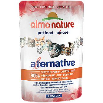 Almo nature Alternative Pouch Filete Pollo (Cats , Cat Food , Wet Food)