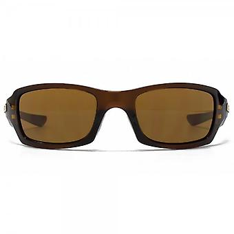 Oakley Five Squared Sunglasses In Polished Rootbeer