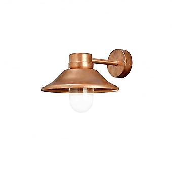 Konstsmide Vega Wall Lamp Copper LED 5W