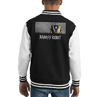 Badass Robot Borderlands Kid's Varsity Jacket