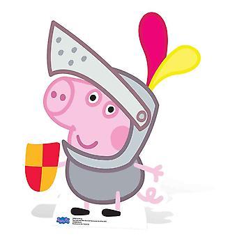 Sagoma di cartone di Sir George Pig / Standup / Standee