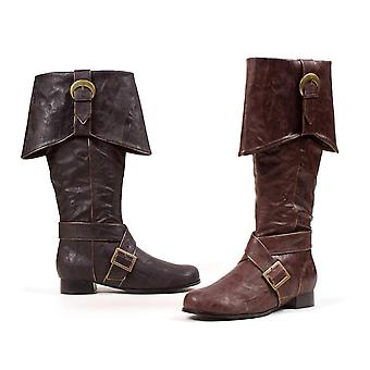 Ellie Shoes E-121-Jack Men 1 Heel Knee High Boots