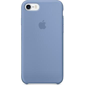 Apple Silicon Micro Fiber cover case for iPhone 7 - sky blue