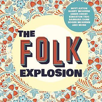Various Artist - Folk Explosion [CD] USA import