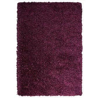 Plum Purple Thick Shaggy Kids Bedroom Rugs Ontario