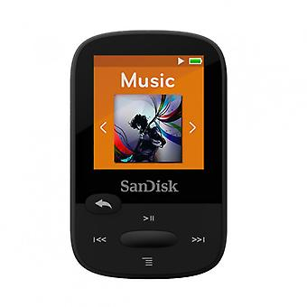 SANDISK MP3 player Clip Sport 8 GB Black with built in FM Radio