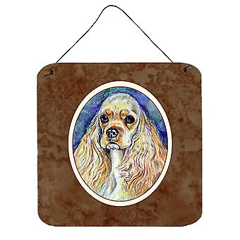 Carolines Treasures  7178DS66 Cocker Spaniel Wall or Door Hanging Prints