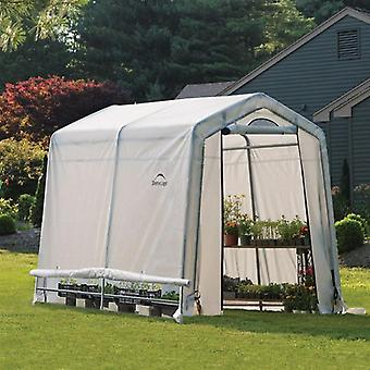 Rowlinson Shelter Logic Peak Style Greenhouse 6ft x 8ft