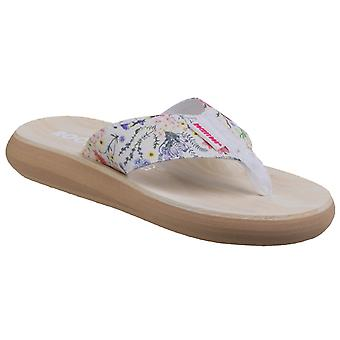 Rocket Dog Womens Spotlight Meadow Lane Fabric Flip Flop