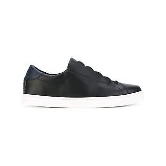 Fendi Damen 8E65923S0F09IQ Schwarz Leder Slip On Sneakers