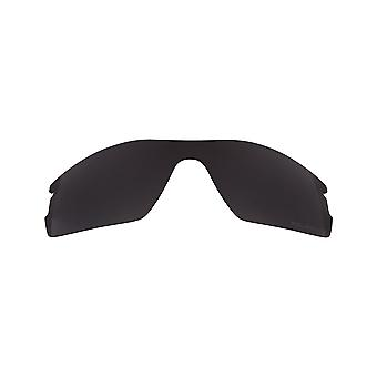 Replacement Lenses Compatible with OAKLEY RADAR PITCH Black Iridium