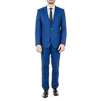 هوجو بوس رجالي تناسب عبقرية ضخمة زرقاء