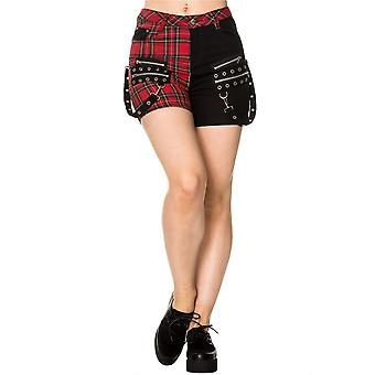Banned Apparel Walk The Line Shorts