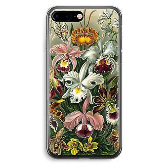 Przezroczyste etui (Soft) - Haeckel Orchidae Plus iPhone 7