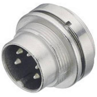 Binder 09-0107-00-03 09-0107-00-03 Miniature Circular Connector Nominal current (details): 7 A Number of pins: 3 DIN