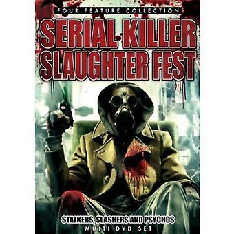 Seriemorder slagtning Fest: Stalkere Slashers & [DVD] USA importerer
