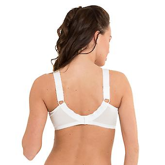LingaDore 1341-1 Women's Lisette White Non-Padded Non-Wired Full Cup Bra