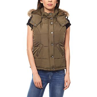 FLASHLIGHTS outdoor quilted vest Jacket Women Green