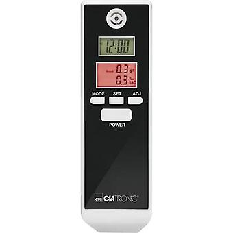 Breathalyser Clatronic AT 3605 White, Black 0.0 up to 1.9 ‰