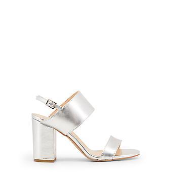 Lavet i Italia kvinders sandaler grå