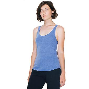 American Apparel Womens/Ladies Triblend Racerback Polycotton Tank Top