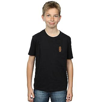 Star Wars Boys Chewbacca Pocket Print T-Shirt