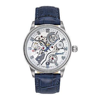 Ingersoll Dameur wrist watch automatisk Becknalls IN7220WH læder